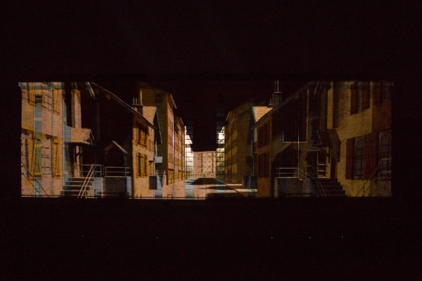 Les Gueules Noires (Video Mapping )